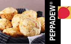 Peppadew® Cheese Muffins Recipe Folder, Cheese Muffins, Bread And Pastries, Breads, Drink, Recipes, Food, Beverage, Recipies