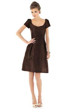 sweet & simple brown dress