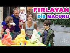 Fırlayan Diş Macunu Yaptık, Acaip Oldu!   Bizim Aile Eğlenceli Çocuk videoları - YouTube