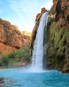 Havasu Falls, Grand Canyon National Park, Arizona #HavasuFalls #GrandCanyon #GrandCanyonNationalPark #Arizona #Supai