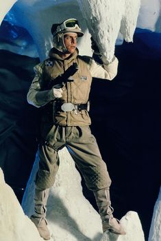Mark Hamill as Luke Skywalker. Promotional photo from The Empire Strikes Back.