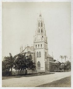 Roman Catholic Cathedral; Georgetown; East view; No. 1... - ID: 1260547 - NYPL Digital Gallery
