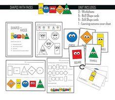 FREE Shape Printables. Shape games, shape posters... Lots of stuff!