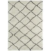 Found it at AllModern - Nador Trellis Rhinestone Area Rug