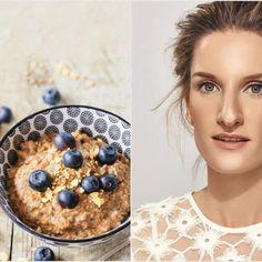 Miluje ich teplé: Raňajkujte pšenovú kašu ako Adela Banášová Cereal, Oatmeal, Breakfast, Food, Diet, The Oatmeal, Morning Coffee, Rolled Oats, Essen