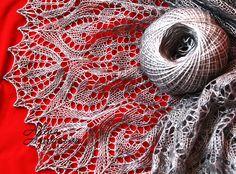 Ravelry: Lale Lace Shawl pattern by Alina Appasov