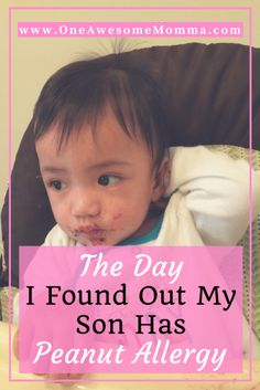 Have you ever received a bad news on a supposedly good day? I did; I found out my son has a peanut allergy on his first birthday. Click on the image to learn more.