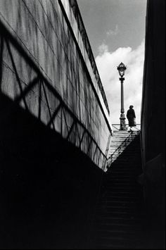 Stairway at the Quay, Paris, 1936, Herbert List
