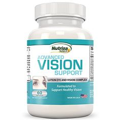 Lutein Advance Vision Support - Vision Formula Pills with Lutein, Bilberry, Zinc, Grapeseed