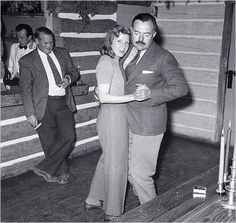 Martha Gellhorn and Ernest Hemingway in Sun Valley, Idaho, at the time of their wedding, November 1940.