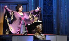Prom 45: Tippett's The Midsummer Marriage Catherine Wyn-rogers wearing costume by Charles and Patricia at the Proms.