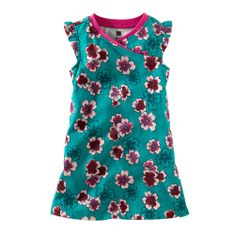 Plum Blossom Mini Dress (3F12151) | Tea Collection Sz 18/24