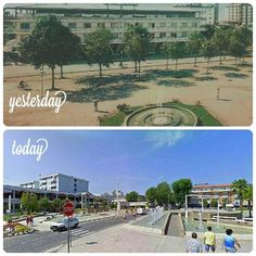 Nice photo of #bibione now and then! #bibionepineda