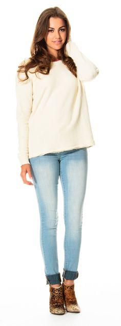 White Sweatshirt | Fall 2014