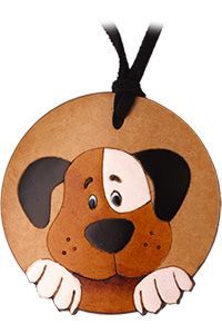 Loyal Friend Dog Gourd Necklace at The Animal Rescue Site