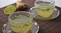 The house detox infusion of winter fresh ginger, mint from the garden … - Diet and Nutrition Bebidas Detox, Detox Drinks, Healthy Drinks, Healthy Recipes, Healthy Food, Colon Cleanse Diet, Nutrition, Detox Tea, Detox Soup