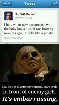 I'M the clever one, YOU'RE the potato one.