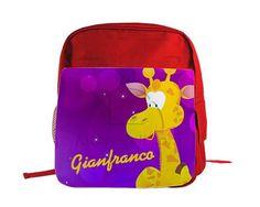 Zaino scuola Giraffa
