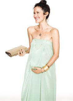 NOT preggo, but HATCH makes a line of maternity wear you can use during aaaaand after baby. So cute!
