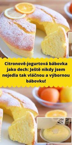 Baby Food Recipes, Sweet Recipes, Cake Recipes, Snack Recipes, Dessert Recipes, Cooking Recipes, Party Food Platters, Sweet Cooking, Czech Recipes