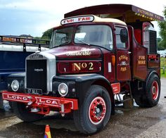 1959 Scammell Tow Truck, Fire Trucks, Pickup Trucks, Vintage Trucks, Old Trucks, Towing Vehicle, Road Transport, Fun Fair, Classic Trucks