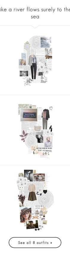 """""""like a river flows surely to the sea"""" by ladyoftheflowers ❤ liked on Polyvore featuring Nia, zaniah, Pierre Hardy, H&M, Ashish, Cyan Design, Kenzie, Chloé, Martha Stewart and William Morris"""