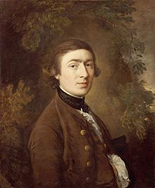 Thomas Gainsborough, Self-Portrait, 1759, born May 14, 1727, died August 2, 1788