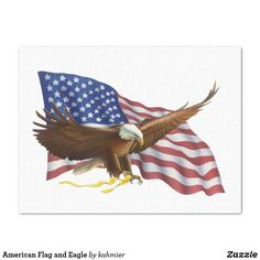 American Flag and Eagle Tissue Paper