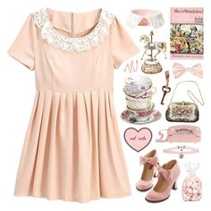 """Alice in Wonderland // Lewis Caroll"" by bananafrog ❤ liked on Polyvore"