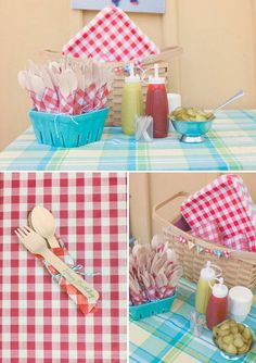 Spring Picnic Themed 1st Birthday Party