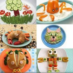 Creative food kids art | Creative Foods | cooking