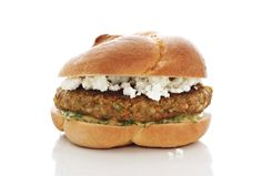 Homemade Veggie Burger.