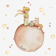 The little prince wall decal. wall sticker little prince. wall stickers nursery little prince. Vinyl Decals, Wall Decals, Prince Nursery, Belly Painting, Nursery Wall Stickers, The Little Prince, Baby Boy Rooms, Conte, Iphone Wallpaper
