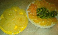 Fructe pentru tort Kiwi, Pineapple