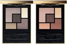YSL Couture Contouring Palettes for Fall 2016 | YSL Eye Couture Contouring Palette - Golden Glow & Rosy Glow