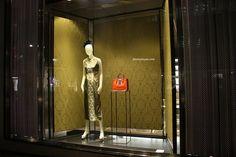 Miu Miu windows at Bond street, London visual merchandising