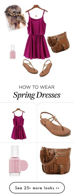 """Casual summer dress"" by kwint99 on Polyvore"
