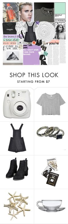 """""""i see the permanent damage you did to me. ☆"""" by i-get-lost-sometimes ❤ liked on Polyvore featuring Chanel, Fujifilm, Monki, Retrò, Assouline Publishing and country"""