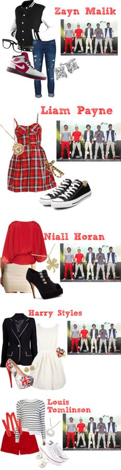 This is a very different style for all of the boys compared to what they wear now....
