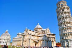 Pisa, piazza dei miracoli.