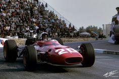 1967 GP Monaco (Chris Amon) Ferrari 312/67