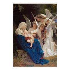 off Hand made oil painting reproduction of La Vierge Aux Anges, one of the most famous paintings by William-Adolphe Bouguereau. The French artist William-Adolphe Bouguereau painted the artwork entitled La Vierge Aux Anges, trans. William Adolphe Bouguereau, Catholic Art, Religious Art, Catholic Store, Catholic Company, Roman Catholic, Catholic Hymns, Catholic Answers, Catholic News