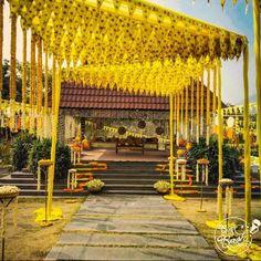 Ultimate Ideas For A Colored Theme Wedding You Must Consider Wedding Looks, Red Wedding, Yellow Theme, Marriage Decoration, Indian Wedding Decorations, Ballroom Wedding, Glamorous Wedding, Animal Fashion, Image Photography