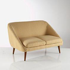 2-zit canapé, vintage, Semeon La Redoute Interieurs (Grijs)