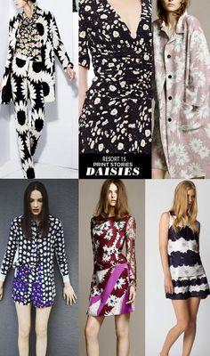 patternpeople resort15 Trends daisies Runway | Resort 15 Print Stories | Innocent Times