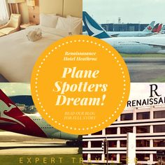 Plane Spotting at the Renaissance London Heathrow Hotel Best Hotels, Plane, Renaissance, Love You, London, Reading, Te Amo, Je T'aime, I Love You