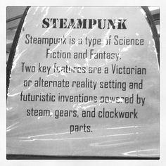 Steampunk is...