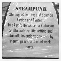 Check out our steampunk display in Youth Services! by TheRLPL, via Flickr