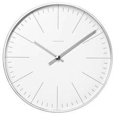 """Max Bill Wall 12"""" Clock  367/6046.00"""