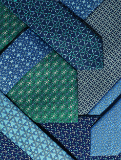 Hermès Spring-Summer 2014. Silk twill ties.
